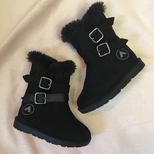 Airwalk black boots size 5